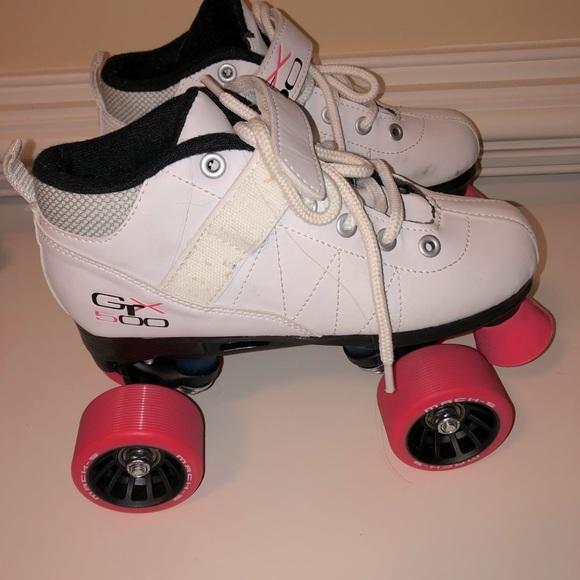 Girl's Quad Roller Skates GTX-500